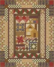 Thimbleberries House and Garden 2007 Club Quilt