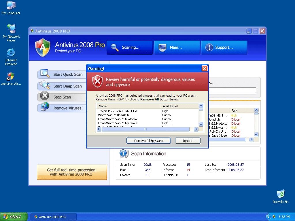 Computer Virus: Common Computer Virus Names