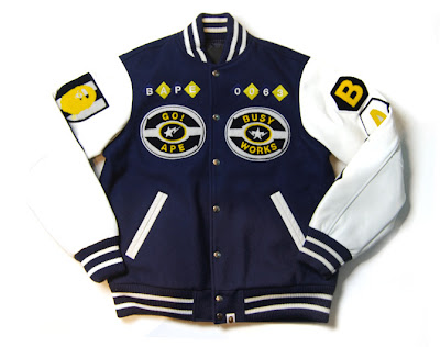 052e72ff A Bathing Ape store in Hong Kong is releasing their final Fall/Winter 2007  collection as we approaching 2008. Items include varsity jacket, denim,  parka, ...