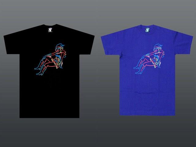 b2ce4398308 HypeSeeker: BBC Neon Vegas Space Girl T-Shirt + Hoodie