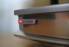DVD player standby button