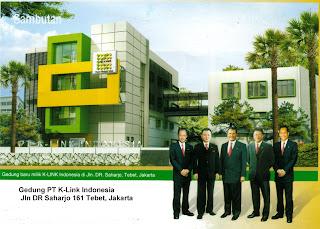 gedung k-link yang terletak di indonesia