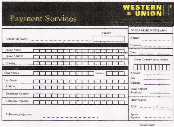 Fake Western Union Mtcn | Pics | Download |