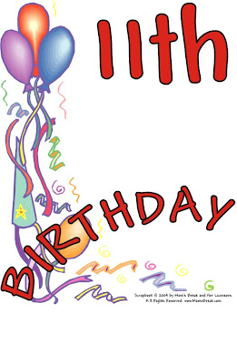 Happy 11th Birthday Jordan And Green Thumb Sunday