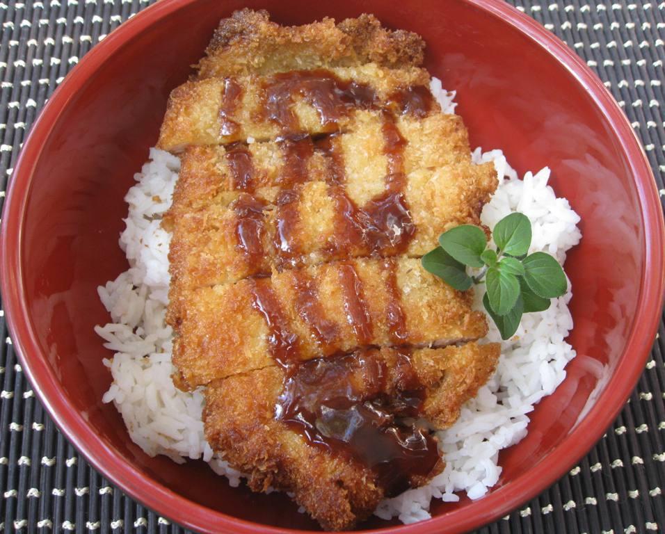 My Asian Kitchen Chicken Katsu With Tonkatsu Sauce