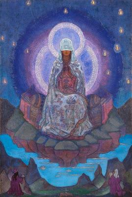 Nicholas Roerich ou découverte d'un grand peintre ésothérique Roerich+the+mother+of+the+world