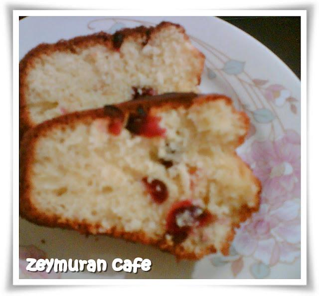 yaban mersinli kek