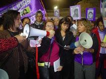 Acción de feministas argentinas contra el Tráfico de Mujeres