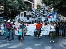 Marcha de AMMAR y organizaciones feministas argentinas