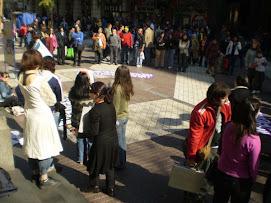 EN LA CALLE DÍA CONTRA EL FEMICIDIO EN CHILE