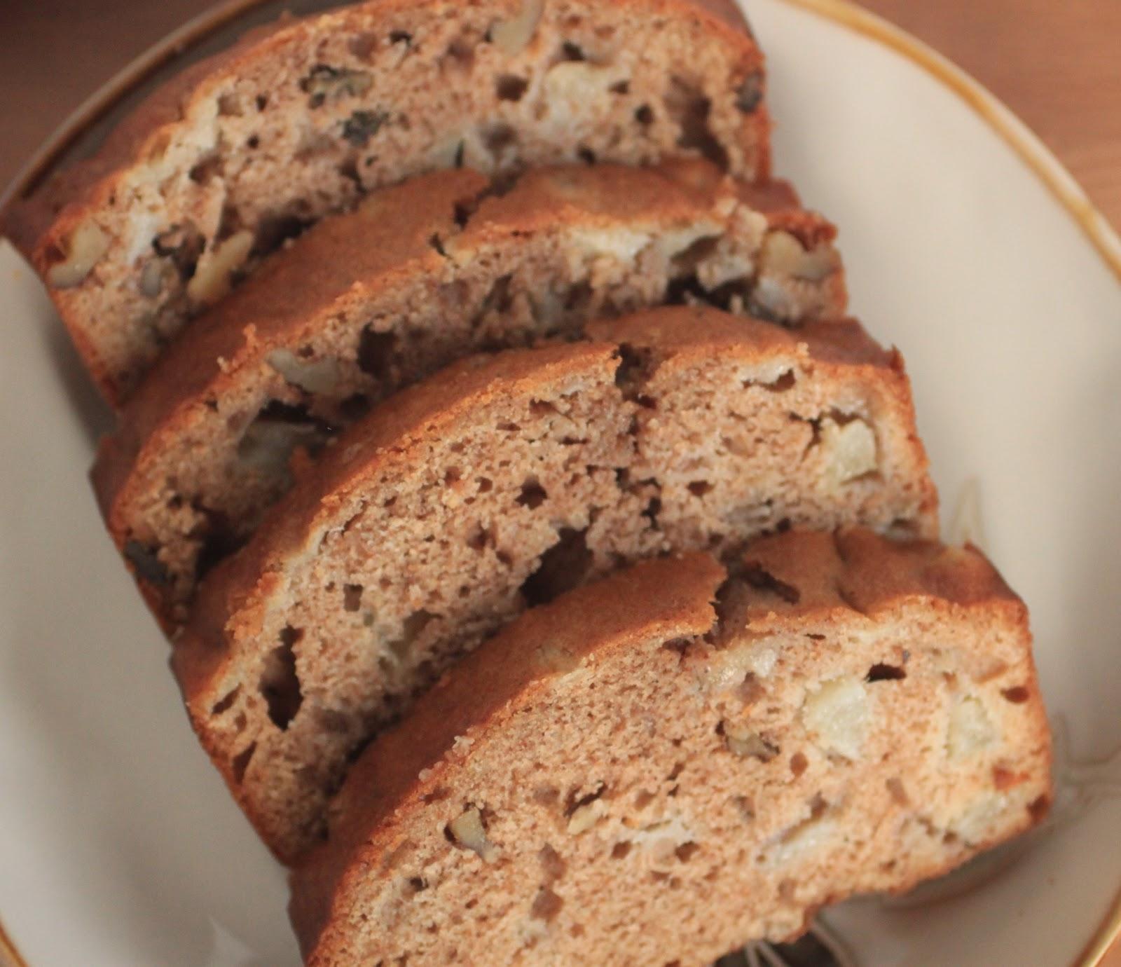 Big Walnut Apartments: Spiced Pear Walnut Bread