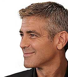 George Clooney and Sarah Larson?