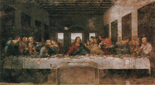 Leonardo Da Vinci Last Supper Painting