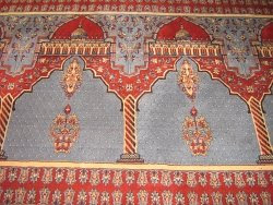 Gaddafi Mosque Carpet