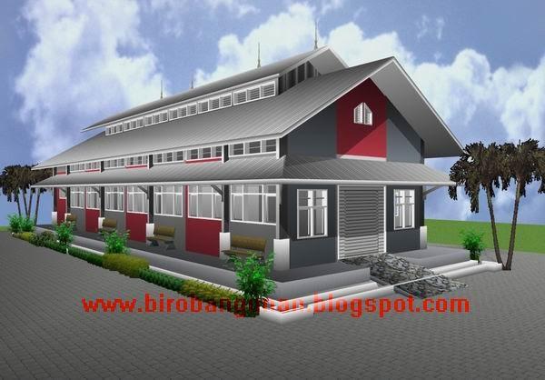 Desain Bangunan Bengkel Kerja  PENATAAN LAY OUT RUANGAN