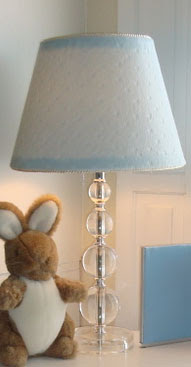 you can transform just about any lamp with spray paint and fabric go. Black Bedroom Furniture Sets. Home Design Ideas