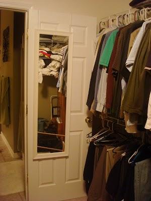 removing door in closet