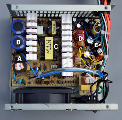 Atx Power Supply Interior on Atx Power Supply Schematic Diagram