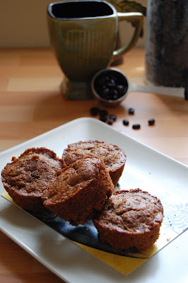 Morning coffee….in a muffin. Coffee Walnut Chocolate Chip Muffins ...