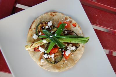 Simple Summer Supper – Grilled Vegetable Tostadas | Making Food ...