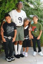 Grandpa Malloy and Savage children