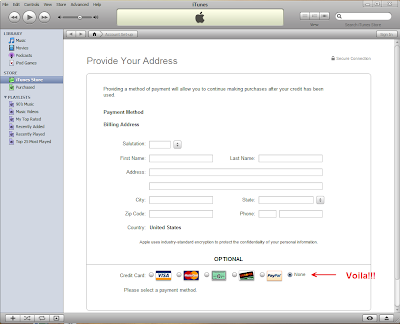 how to change credit card info on itunes