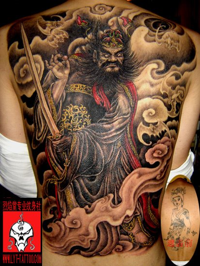best tattoo design. Full Back Tattoo Designs. by