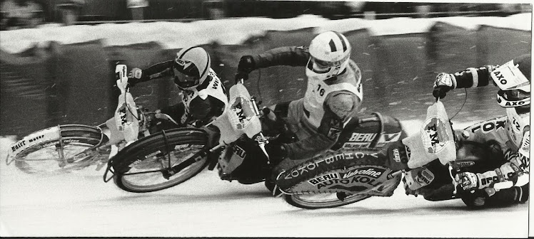 Ice Speedway - Probably the most dangerous motorcycle sport in the World!