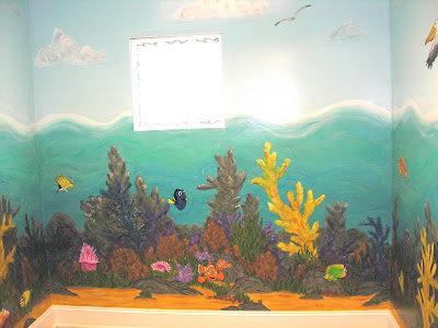 Liza bean designs nemo mural laurel hights atlanta for Fewell custom homes