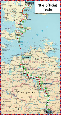 Cycling from Berlin to Copenhagen