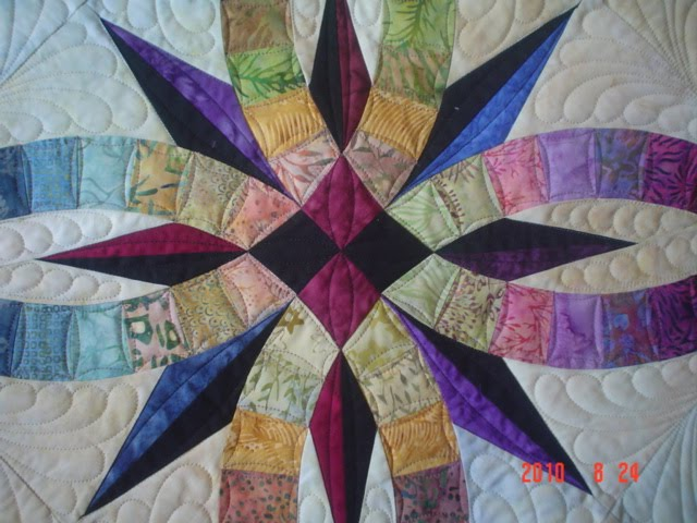 myquilter: Bali Wedding Star quilt