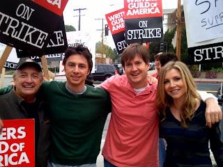 scrubs on strike