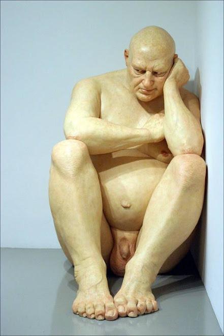 """""""Big Man"""" 1998 (1,83 de altura) - Obra de Mueck"""