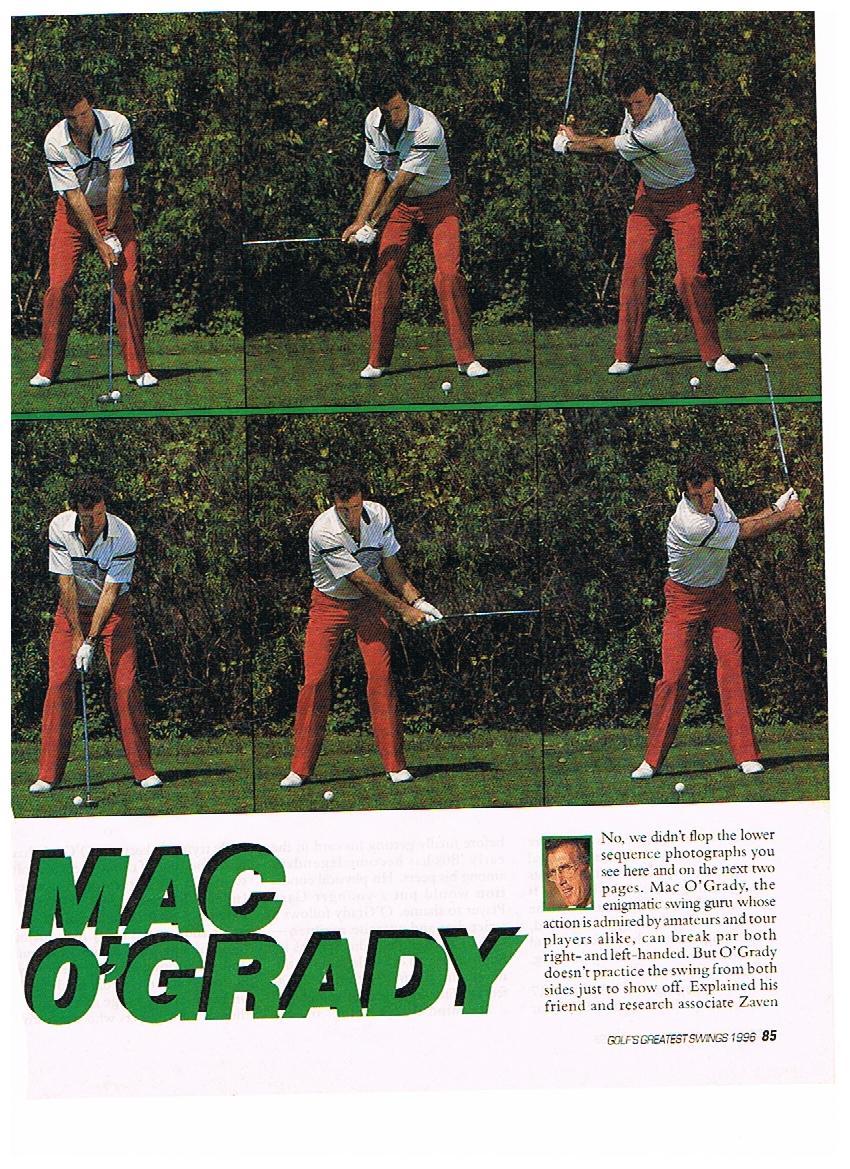 mac ogrady left handed swing