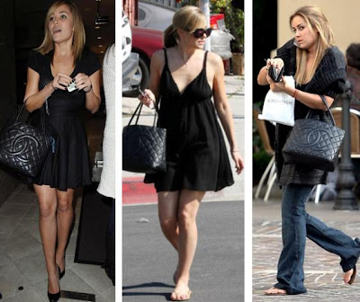 00e8ed3d677d LAUREN CONRAD. Out with the old in with the new. This is the Chanel bag  that Jason gave her during season one of The Hills. Even after breaking up
