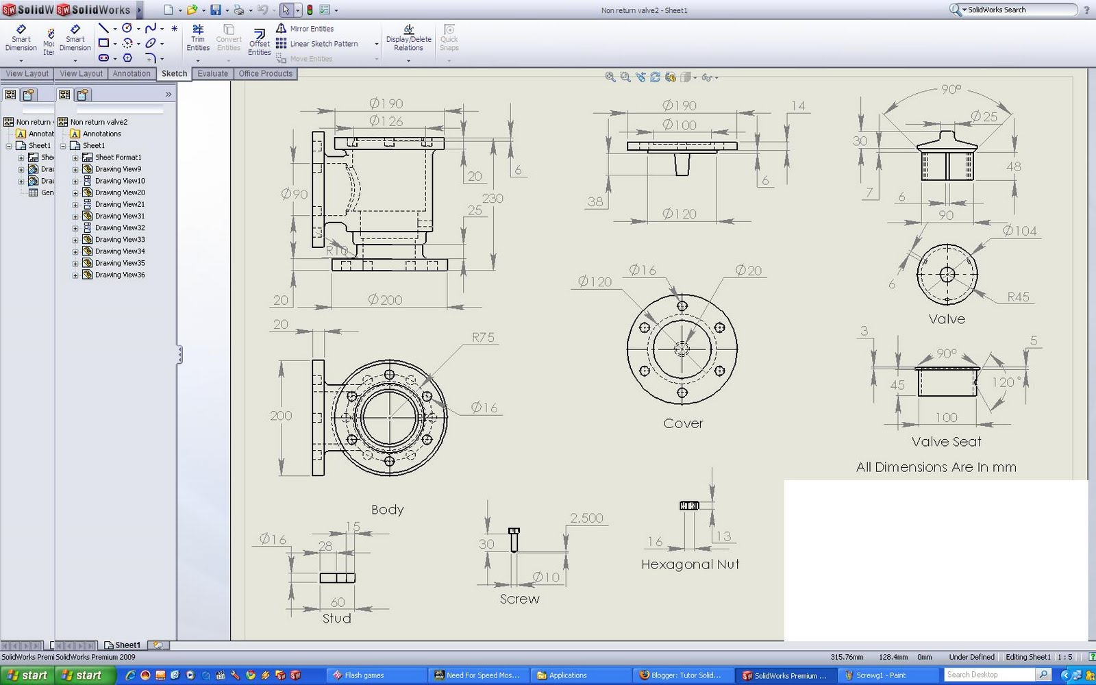 Tutor Solidworks
