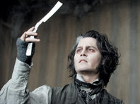 Sweeney Todd = Johnny Depp