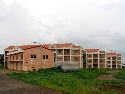 Bissau residential area
