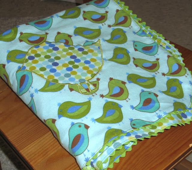 Ric Rac Receiving Blanket Tutorial.