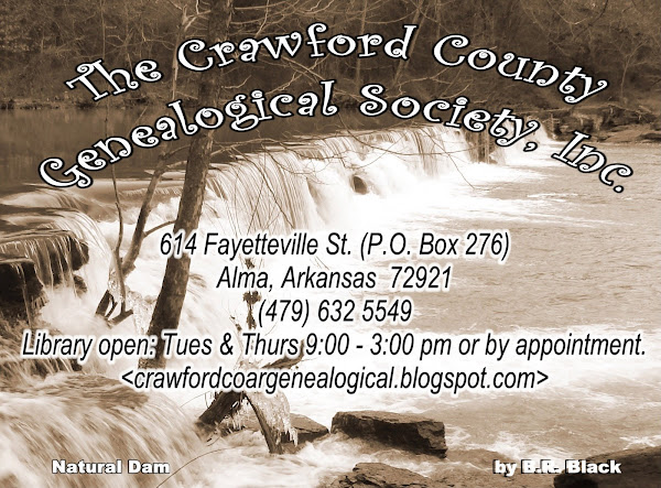 Crawford County. AR. Genealogical Society