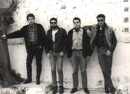 Enero 1988 Sesión fotográfica para la portada.