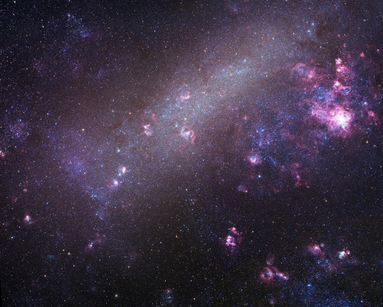 Andromina Significado astrofísica y física: ¿regresan las nubes de magallanes a