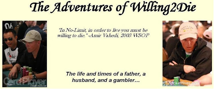 The Adventures of Willing2Die