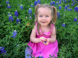 Lucy in Bluebonnets