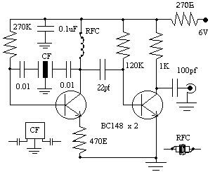 THE RADIO BUILDER: Simple BFO to make (CW and SSB receiver