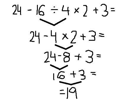7-18: Order of Operations