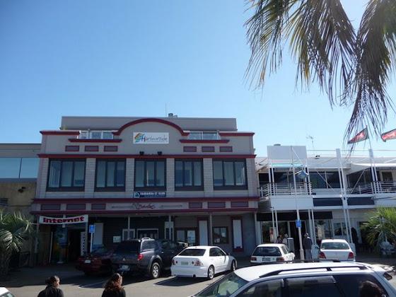 Este es el HarbourSide hostel en Tauranga City