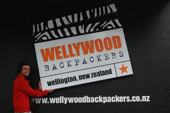 Wellywood backpackers el hostel que más me gustó, y donde me quedé en Wellington