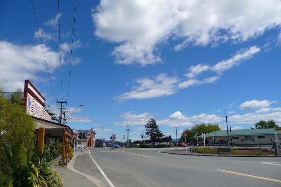 La calle de Spring Creek