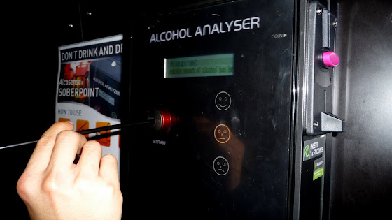 El que te analiza cuan borracho estás!!!